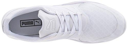 Puma Mens Duplex Evo Mode Sneaker Puma Vit / Puma Vit