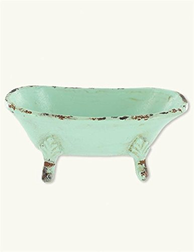 Victorian Trading Co. Green Clawfoot Tub Trinket Dish by Victorian Trading Co.