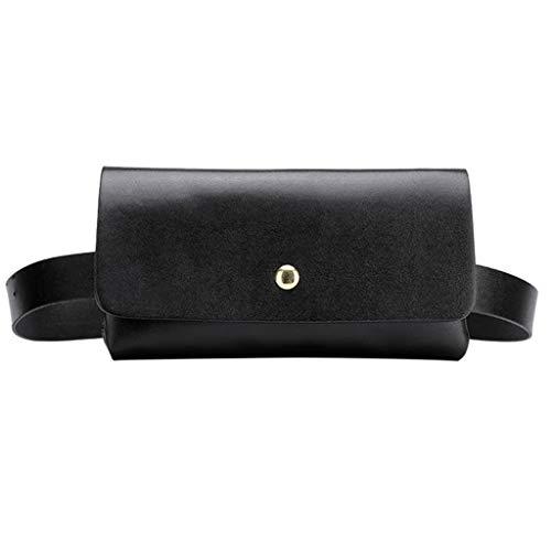 Uplord Fashion Women Outdoor Solid Color Hasp Messenger Bag Sports Chest Bag Waist Bag Fanny Pack Travel Sport Waist Pouch Crossbody Chest Bags,18cm(L) x2cm(W) x9.5cm(H) (Best Laptop For Girlfriend)