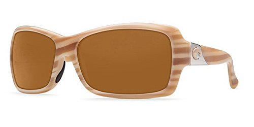 Costa Del Mar Sunglasses - Islamorada- Plastic / Frame: Morena Lens: Polarized Amber 580P - Costa Islamorada Sunglasses