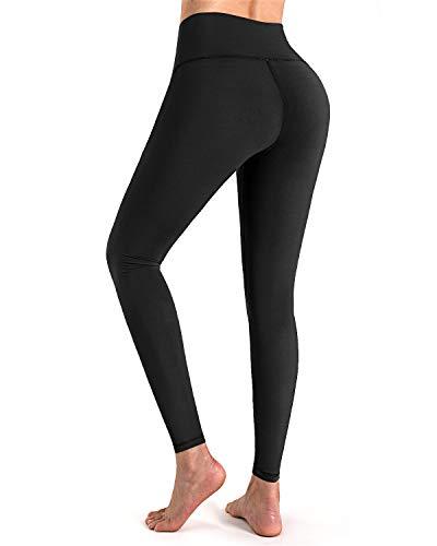 STYLEWORD Women's High Waist Yoga Pants Tummy Control Leggings Workout Running Elastic Tights