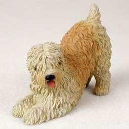 (Wheaten Terrier Figurine)