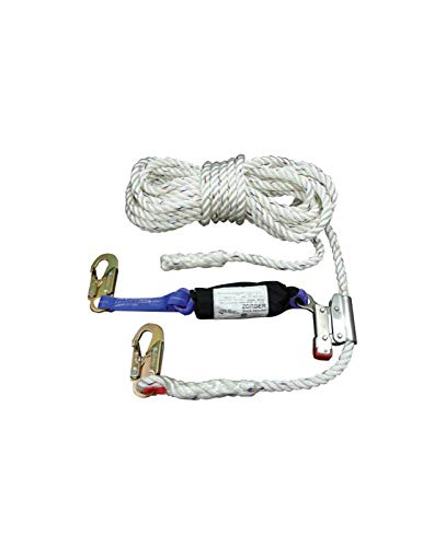 Elk River 49902 Polyester/Polypropylene Construction Plus Lifeline Rope with Attached Rope Grab and 2