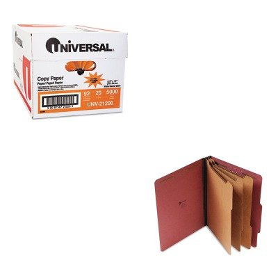 KITUNV10290UNV21200 - Value Kit - Universal Pressboard Classification Folder (UNV10290) and Universal Copy Paper (UNV21200)