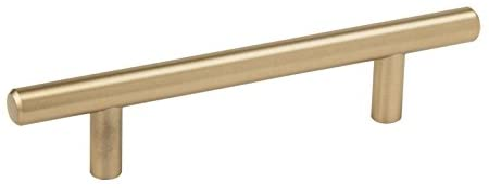"""262WPB Polished Brass 1 1//4/"""" Cabinet Knob Pulls White Porcelain Center Amerock"""