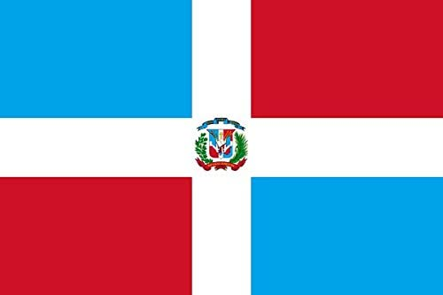 Gran Bandera de Dominicano 150 x 90 cm Satén Durobol Flag: Amazon.es: Deportes y aire libre