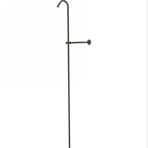 Elements of Design Oil Rubbed Bronze Shower Riser and Wall Support