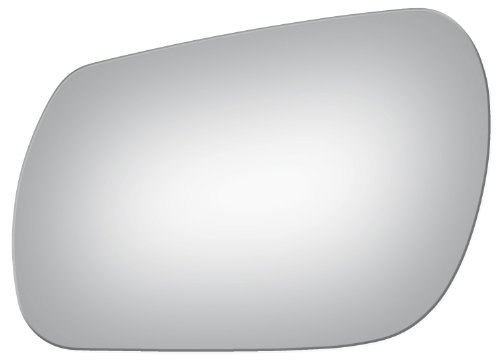 Flat Driver Left Side Replacement Mirror Glass for 2004-2009 Mazda Mazda3 -