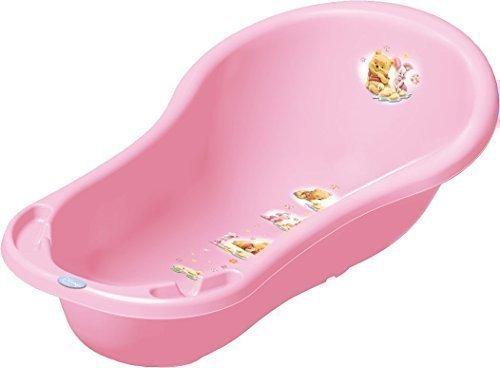 Baby Badewanne XXL Winnie Pooh rosa Babywanne OKT Kids