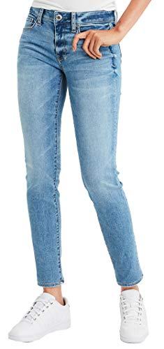 American Eagle Womens 1471455 Low Rise Ne(X) t Level Skinny Jean, Faded Light (2R)