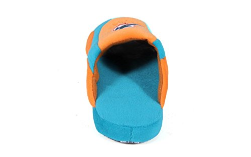 Miami Pro Mens Feet Feet and Slippers Pro Comfy Low Dolphins Womens NFL OFFICIALLY Low Happy LICENSED qASnwv7