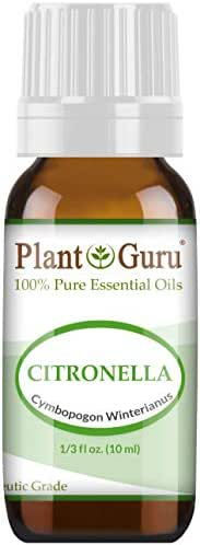 Citronella Essential Oil 10 ml 100% Pure Undiluted Therapeutic Grade.