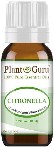 Citronella Essential Oil 10 ml 100% Pure Undiluted Therapeutic Grade.