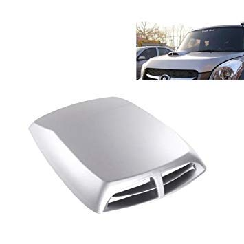 Uniqus Car Turbo Style Air Intake Bonnet Scoop for Car Decoration, Random color Delivery