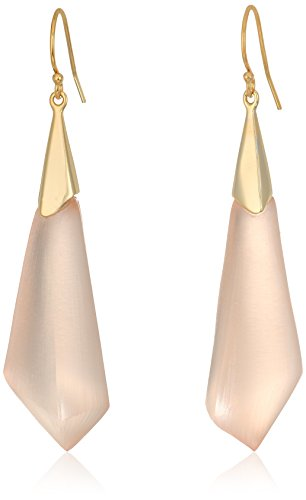 (Alexis Bittar Faceted Wire Drop Earrings, Sunset, One Size )
