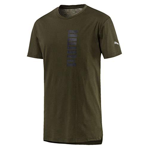Puma T Energy T Homme Graphic Vert foresta notte shirt shirt Triblend SX5xw5KAEq