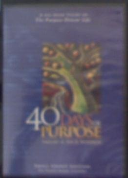 - 40 Days of Purpose Small Group Edition A Six-Week Study of The Purpose Driven Life