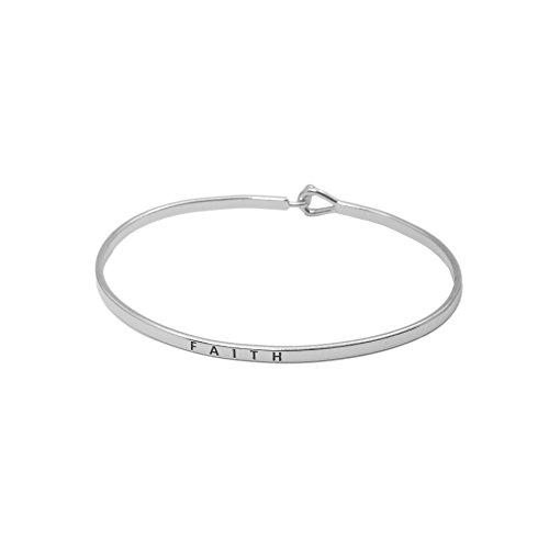Spinningdaisy Personal Mantra Message Bracelet