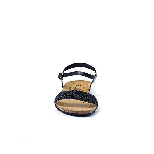 PLAKTON Women's Clogs & Mules Black jU0fLQ6U