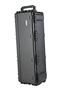 SKB 3i-4213-12BE Large Drum Hardware Case with Handle, Wheels and Locking Latches