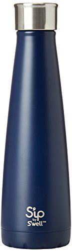Swell 200115461 15 oz Sip Insulated, Double-Walled Stainless Steel Water Bottle, Blue Raspberry Gummy 15oz