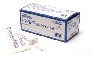 Pro Advantage 76200 Cotton-Tipped Applicator, 6