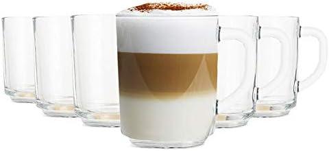 Pasabahce Vasos de té/café Basic - 240 ml - Set de 6 - Vasos Apto ...