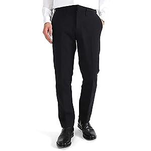[ノット] ストレッチ スラックス スリムストレートパンツ 57049104009 トラウザー スーツパンツ (メンズ) 2(L) Black(19)