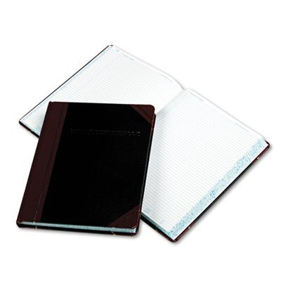 Esselte - Laboratory Record Book,300 Pages,8-1/8''x10-3/8'',Black/Red, Sold as 1 Each, ESS L21300R by Boorum & Pease
