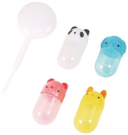 CuteZCute Bento Soy Sauce Case Container with Dropper,