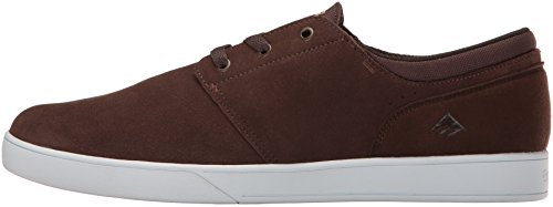 Emerica The Figueroa, Color: Brown/White/Gum, Size: 45 Eu / 11 Us / 10 Uk