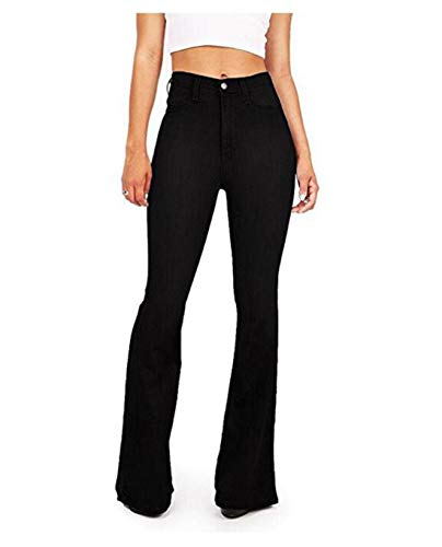 Black jeans Blue2 Size classici a alta con a Pantaloni Cvthfyk XL alta vita donna vita da Color AFfxa