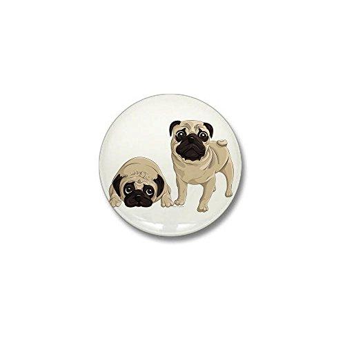 CafePress - Pugs Mini Button - 1