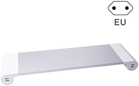 Trkee Aluminium Alloy Base Holder Smart 4 USB Port Charger Stand for PC Desktop Laptop