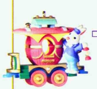 COTTONTAIL EXPRESS - CABOOSE 2000 Hallmark Ornament (Express Caboose)