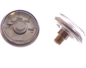 Palmer Pneumatics Ashcroft Gauge - :0-4000 PSI by Palmer Pneumatics