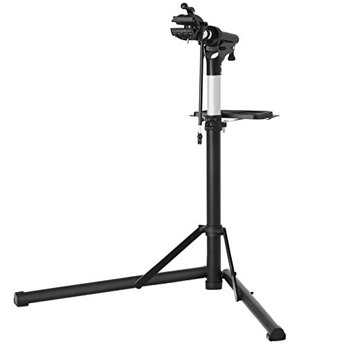 SONGMICS Bike Repair Stand Rack, Portable USBR04B