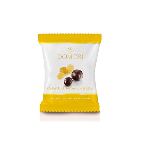 Domori - Dragees Dark chocolate covered Ginger FP