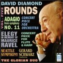 Diamond: Vol. 5, Rounds / Adagio from Sym. No. 11 / Concert Piece for Orchestra / Elegy in Memory of Maurice Ravel / Concert Piece for Flute and Harp