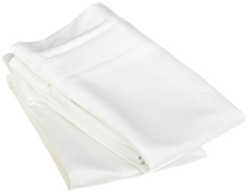 1500 Thread Count, 100% Egyptian Cotton, Pillowcases, Standard, Solid, White