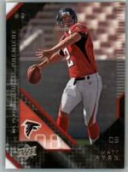 2008 Upper Deck (UD) Rookie Premiere # 4 Matt Ryan RC - Rookie Card - Atlanta Falcons - NFL Trading Card - In Protective Scew Down Display Case (Atlanta Falcons Mint Nfl Card)
