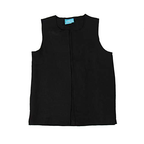 Making Believe Boys Long Colonial Costume Vest (Boys Medium (8/10), Black) ()