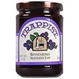 Trappist Boysenberry Seedless Jam - All Natural 12 oz.