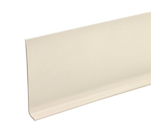 M-D Building Products 73899 4-Inch by 60-Feet Dry Back Vinyl Wall Base, Almond