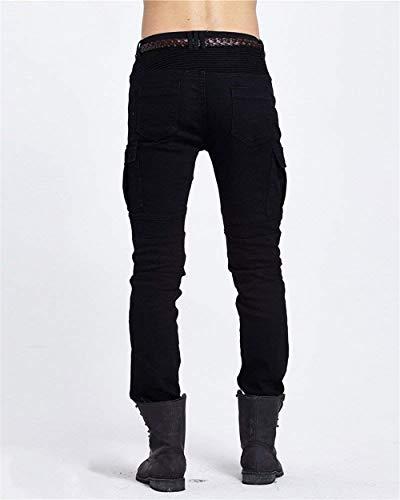 Jeans De Lannister Carga Multi Mezclilla Pantalones Negro Fashion Pantalones Pitillo con Biker De Trabajo para Hombre Carga Jogging De De Skinny Pantalones Puños De Trabajo Pantalones con Bolsillo qrPq4tga