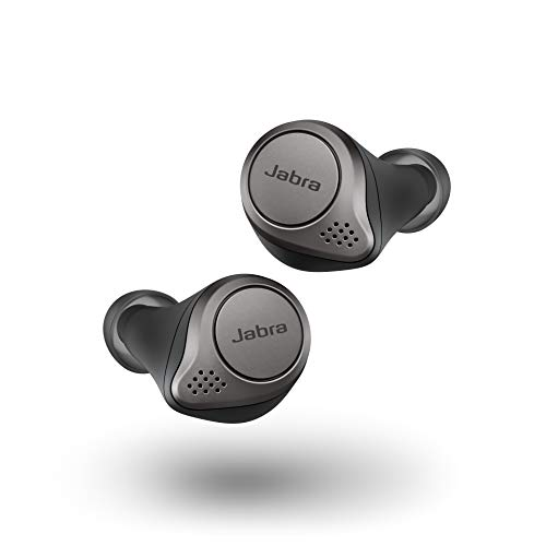Jabra Elite 75t Titanium Black Replacement for Lost or Damaged Earbuds (Case Not Included)
