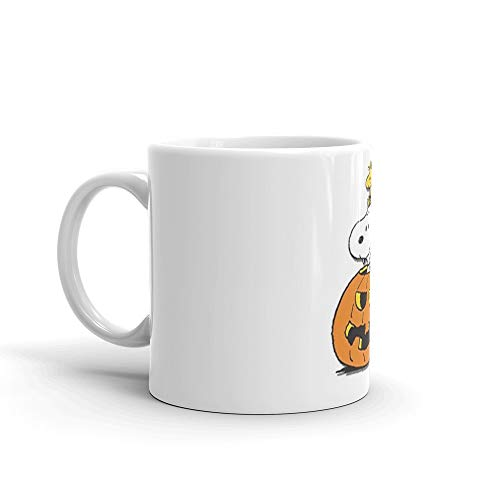 snoopy halloween 11 Oz White Ceramic]()