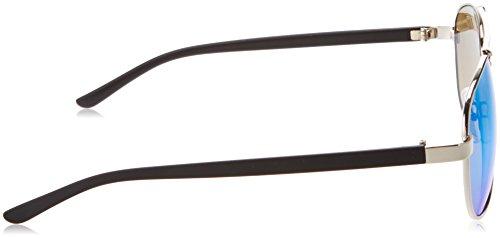 Plateado Sol Sunglasses de Gafas MSTRDS 4468 Adulto Unisex Silver Mirror Blue Mumbo X18wxU