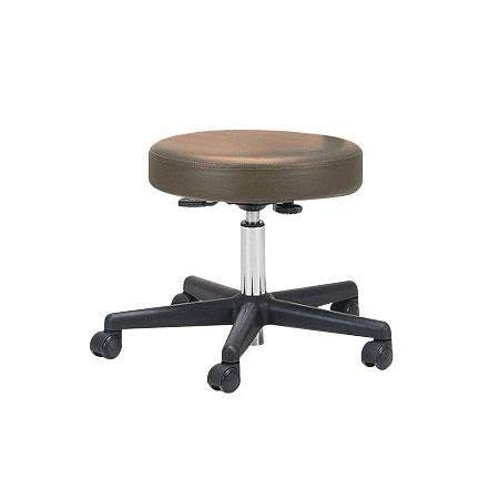 EARTHLITE Pneumatic Rolling Stool - CFC-Free, No Leaking (vs. Hydraulic), Commercial Grade perfect for Medical, Massage, Spa & Home Office