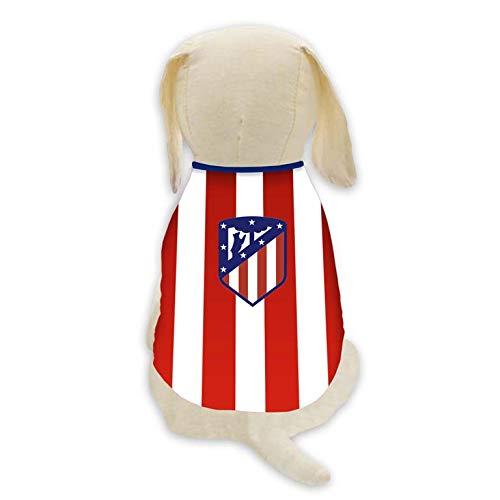 Talla XL Atletico de Madrid SH-01XL-ATL Camiseta para Perro